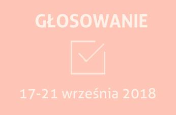 Głosowanie w dniach 17-21 września 2018